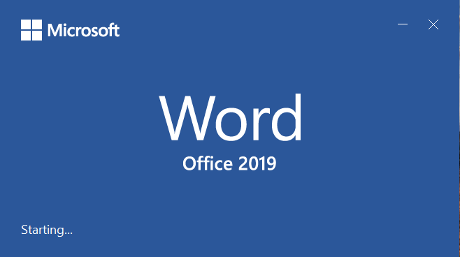Baixar Word 2019